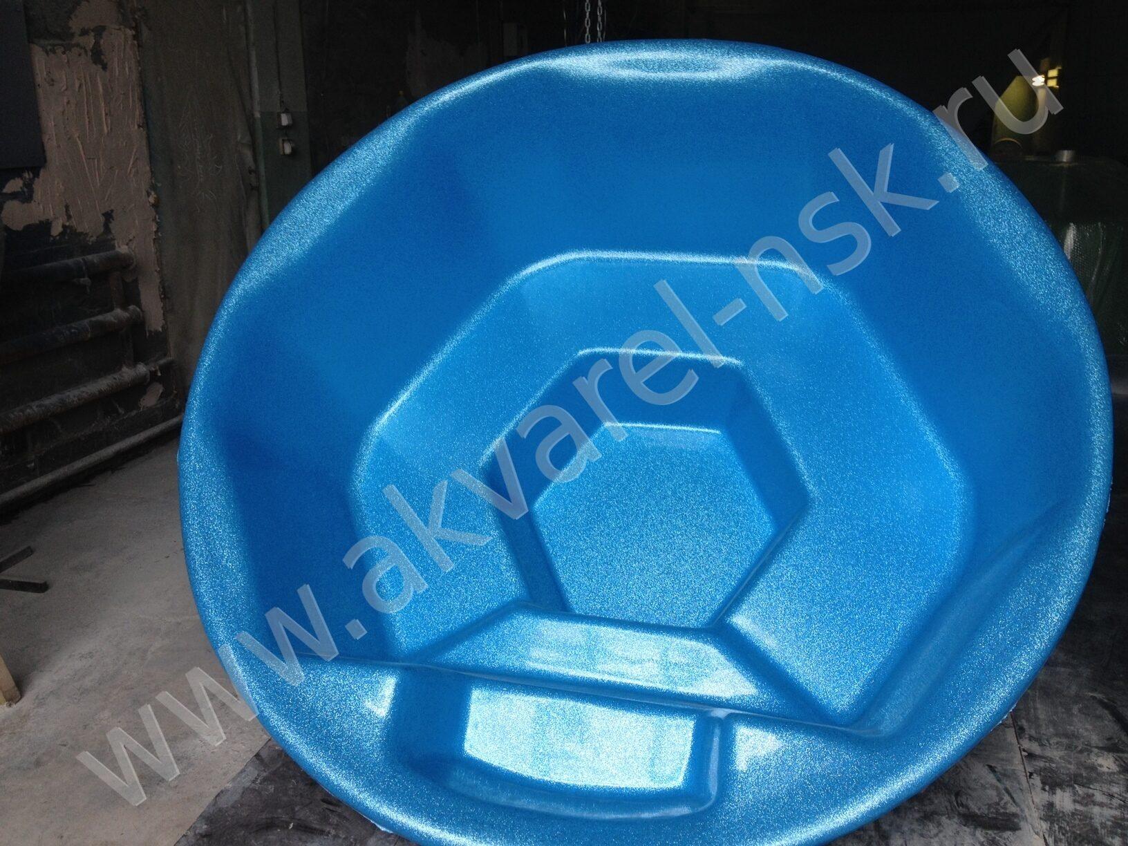 Чаша для бассейна из стекловолокна своими руками 200