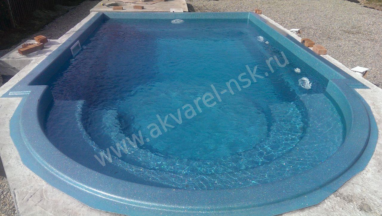 Сделать бассейн из стекловолокна