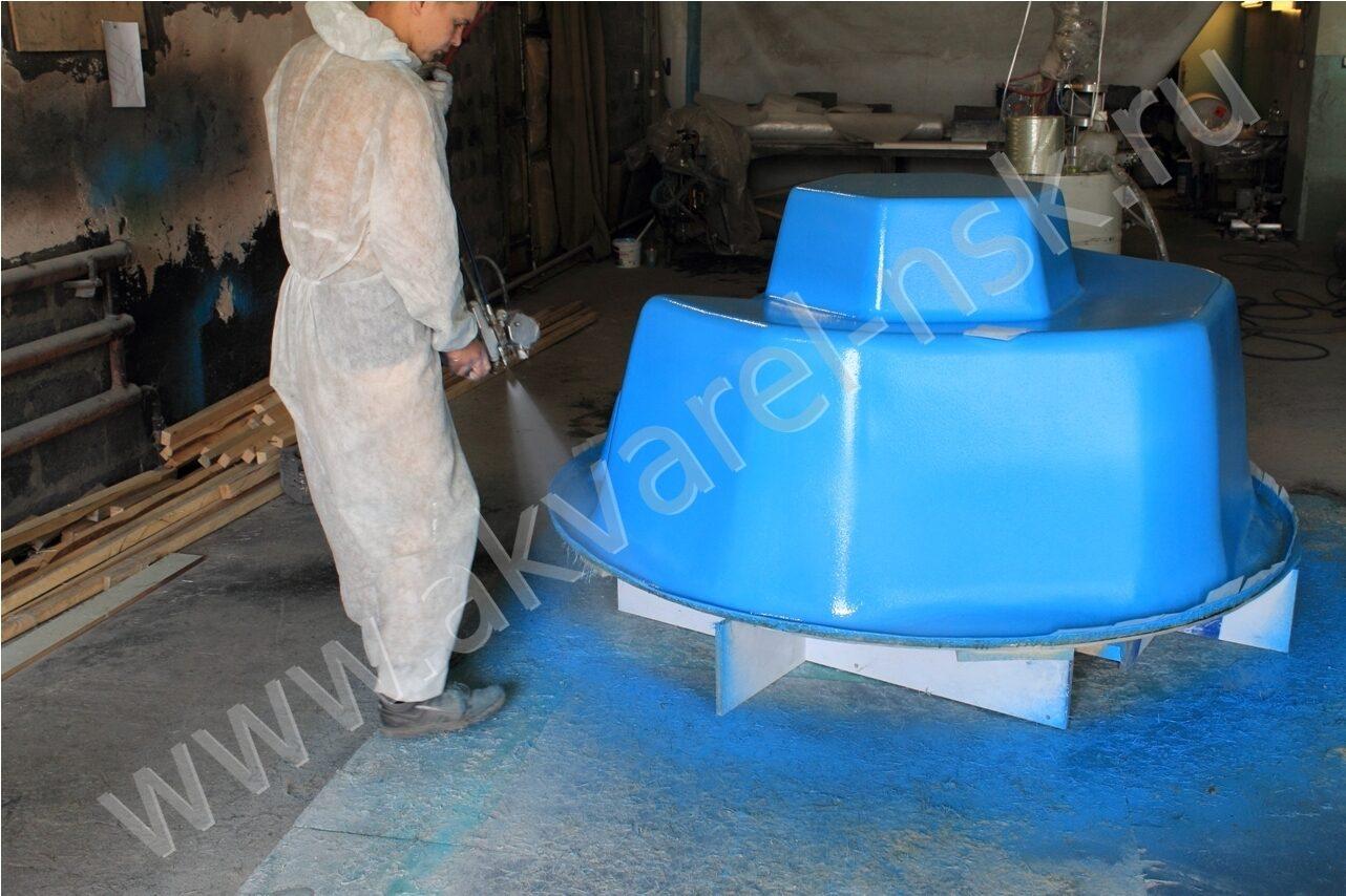 Оборудование для производства бассейнов из стеклопластика